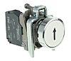 Schneider Electric Harmony XB4 White Push Button NO