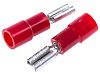 RS PRO Red Insulated Spade Connector, 2.8 x