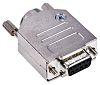 Amphenol ICC D-Sub konnektor, fatning, 9-Polet, Lige, Tavle montering, Skrueterminal terminering, 300,0 V., 7.5A