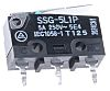 SPDT-NO/NC Hinge Lever Subminiature Micro Switch, 5 A @ 125 V ac