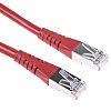 Roline Red Cat6 Cable S/FTP Male RJ45/Male RJ45,