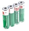 RS PRO AA NiMH Rechargeable AA Batteries, 2.6Ah,