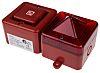 e2s SONFL1X Sounder Beacon 100dB, Red Xenon, 230 V ac, IP66