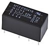 TE Connectivity, 12V dc Coil Non-Latching Relay DPDT,