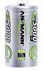 Ansmann MaxE Ansmann NiMH Rechargeable D Batteries, 5Ah
