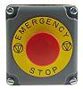 Schneider Electric Surface Mount Emergency Button - Twist to Reset, NC, Mushroom Head
