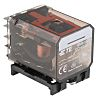 TE Connectivity DPDT Non-Latching Relay DIN Rail, 24V