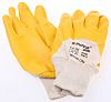 BM Polyco Nitron, Yellow Nitrile Coated Work Gloves,