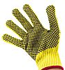 BM Polyco Touchstone Yellow PVC Coated Kevlar Work Gloves, Size 9, 2 Gloves