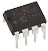 Microchip PIC12F509-I/P, 8bit PIC Microcontroller, PIC12F, 4MHz, 1K Flash, 8-Pin PDIP