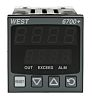 West Instruments P6700 PID Temperature Controller, 48 x 48 (1/16 DIN)mm, 1 Output Relay, 100 V ac, 240 V ac Supply