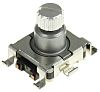 Alps Alpine 15 Pulse Incremental Mechanical Rotary Encoder with a 6 mm Slot Shaft, SMD