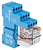 Finder, 24V ac 4PDT Interface Relay Module, Screw
