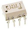 Toshiba, TLP620-2(F) AC Input Transistor Output Dual Optocoupler,