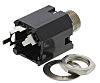 Switchcraft 6.35 mm Through Hole Mono Jack Socket,