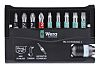 Wera Driver Bit Set 10 Pieces, Hexagon, Phillips,