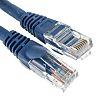 RS PRO Blue LSZH Cat5e Cable U/UTP, 3m
