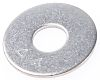 Plain Stainless Steel Mudguard Washer, M10 x 30mm,