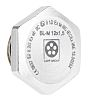 Lapp ATEX M12 Plug, Nickel Plated Brass, Threaded,