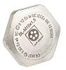 Lapp ATEX M16 Plug, Nickel Plated Brass, Threaded,