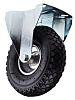 RS PRO Fixed Castor Wheel, 150kg Load Capacity,