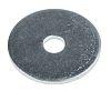 Bright Zinc Plated Steel Mudguard Washer, M5 x