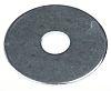 Bright Zinc Plated Steel Mudguard Washer, M10 x