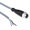 Pepperl + Fuchs M12 4-Pin Cable assembly, 2m Cable