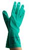 Ansell Sol-Vex, Green Work Gloves, Size 10