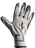Ansell Hyflex, Grey Nitrile Coated Work Gloves, Size