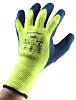 Ansell Powerflex, Yellow Latex Coated Work Gloves, Size