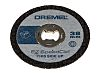 Dremel Aluminium Oxide Cutting Disc, 38mm x 1.12mm