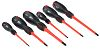 RS PRO VDE Phillips, Slotted Screwdriver Set 6
