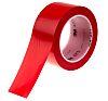 3M Scotch 471 Red Vinyl 33m Lane Marking Tape, 0.14mm Thickness