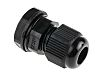 RS PRO M12 Cable Gland With Locknut, Nylon,