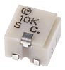 10kΩ SMD Trimmer Potentiometer 0.25W Top Adjust Bourns