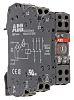 Module de relais d'interface 230V c.a. / V c.c., 2 RT, montage Rail DIN, série R600