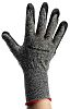 Honeywell, Black Nitrile Coated Work Gloves, Size 7