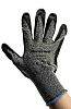 Honeywell, Black Nitrile Coated Work Gloves, Size 8