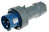 MENNEKES, PowerTOP IP67 Blue Cable Mount 2P+E Industrial