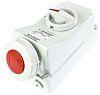 MENNEKES Switchable IP67 Industrial Interlock Socket 3P+E,