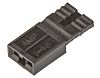 TE Connectivity, AMPMODU NOVO Shunt Female Straight Black