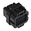 TE Connectivity AMP Superseal Male Connector Housing, 3mm