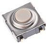 Omron タクタイルスイッチ SPST-NO 表面実装 6.50 x 6 x 3.10mm
