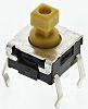 Plunger Tactile Switch, SPST-NO 50 mA @ 24 V dc 3.9mm