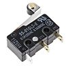 SPDT-NO/NC Roller Lever Microswitch, 100 mA @ 30