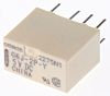 Omron, 5V dc Coil Non-Latching Relay DPDT, 1A
