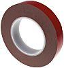 Hi-Bond VST 6080G Grey Foam Tape, 25mm x 10m, 0.8mm Thick