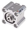SMC Pneumatic Compact Cylinder 25mm Bore, 10mm Stroke,