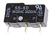 SPDT-NO/NC Pin Plunger Microswitch, 5 A @ 125